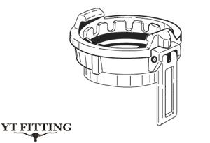 Соединение TW тип MK — муфта с внутренней резьбой и рычажным замком